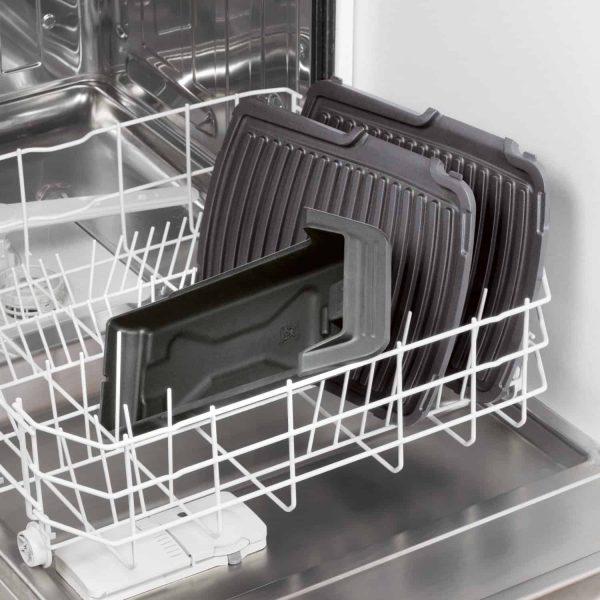 bistecchiera in lavastoviglie quando