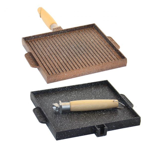 bistecchiere per fornelli a gas in pietra